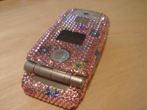 Blinged out Motorola MPX-220