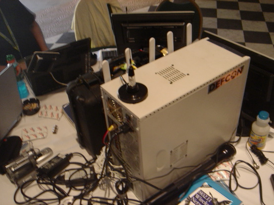 @ DEFCON – The Janus 6 Wi-Fi card 0wning station…