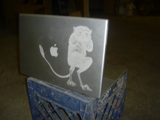 Laser-etched Powerbook!