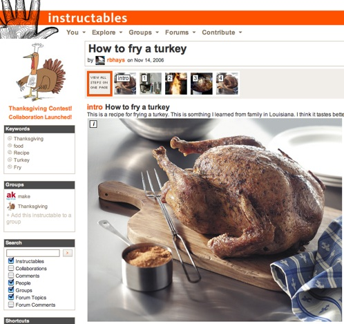 Interview with a turkey fryer