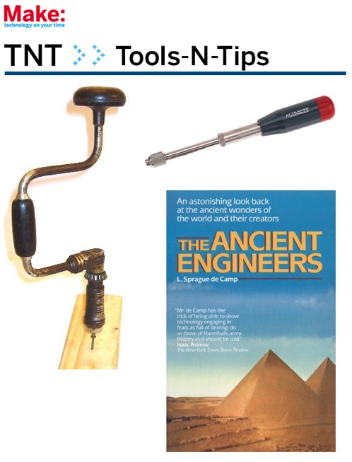 New MAKE:TNT Tips and Tools newsletter
