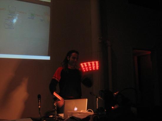 Time lapse photos, Sonic Fabric, RFID implants – Dorkbot