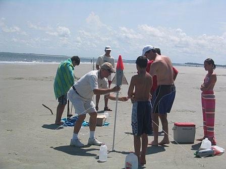 Water rocket contest