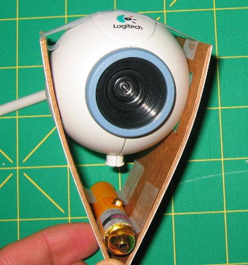 DIY Laser range finder