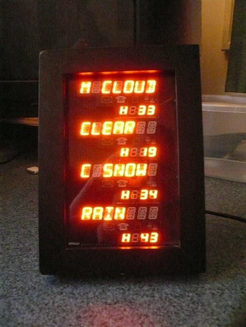 Arduino powered weather station
