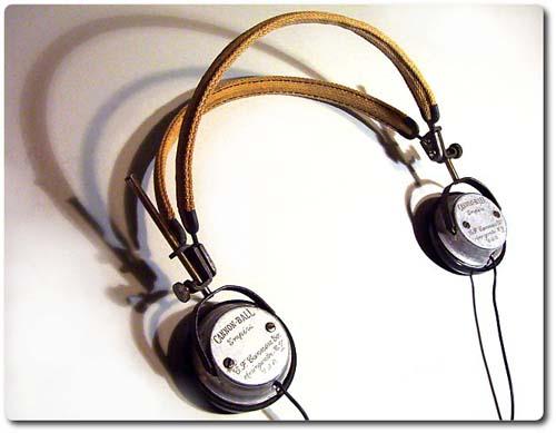Vintage headphone mod