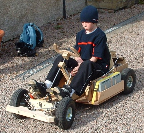 DIY small electric buggies and go kart plans