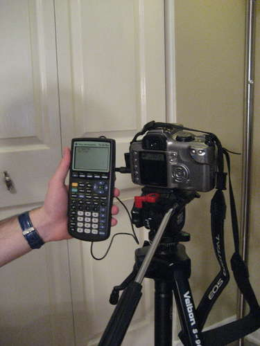 HOW TO – time lapse video with a graphing calculator