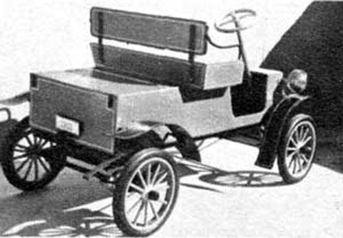 Make a half size 1901 Packard