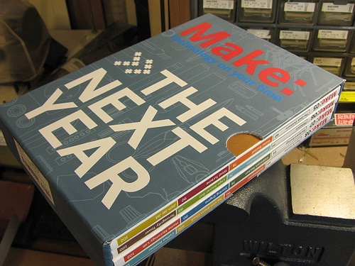 Make: The Next Year Collector's Box Set – only 100 left