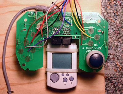 MAME cabinet with built in Dreamcast