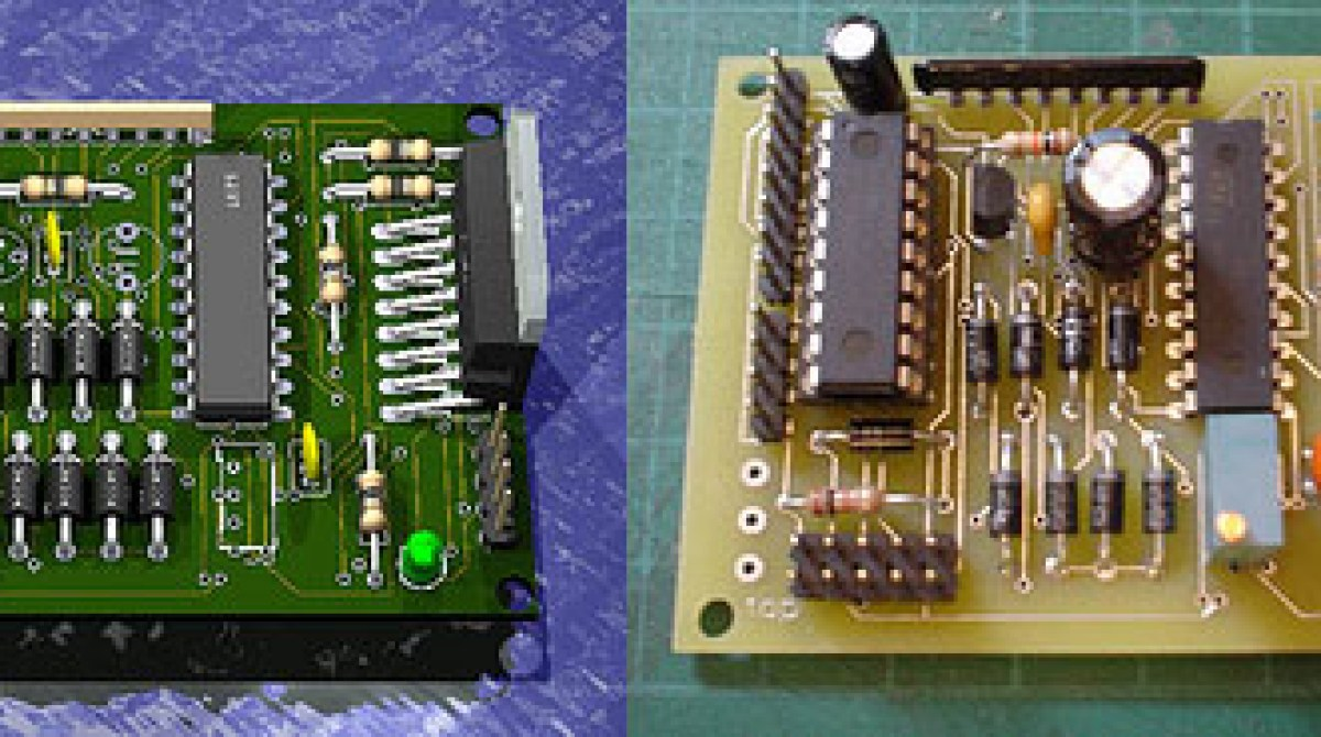 Eagle3d Pov Ray Circuit Board Preview Make Eagle Cad Controller Schematic Display Article Featured Image