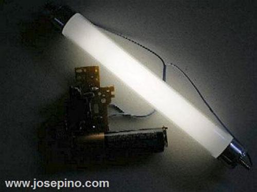 DIY 4-Watt Fluorescent light power supply