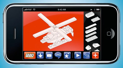 Design LEGO creations on your iPhone or iPod Touch