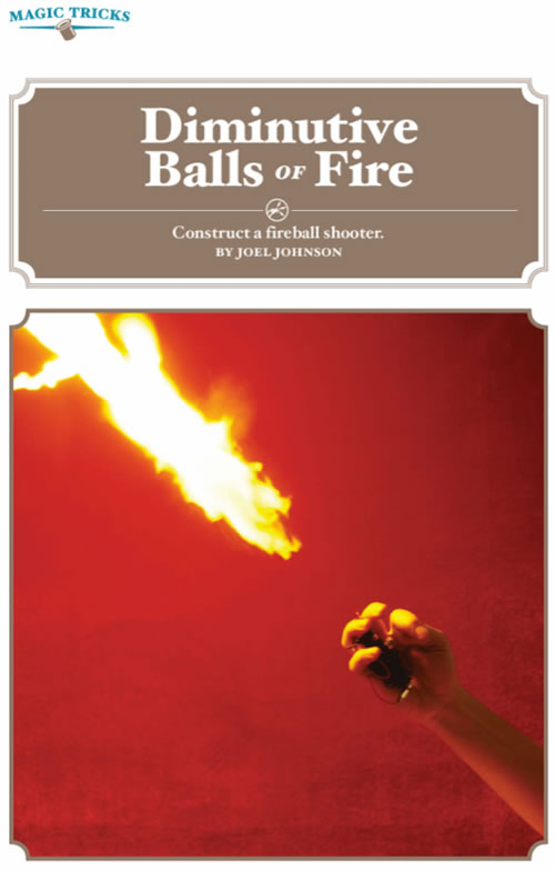 Weekend Project: Fireball Shooter (PDF)