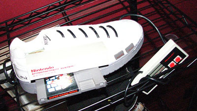 Nintendo shoe lets you play Mario on the run