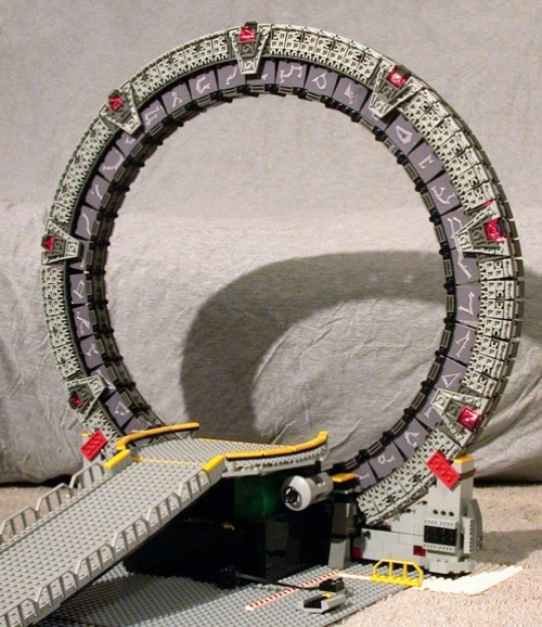 A LEGO space odyssey – Discovery
