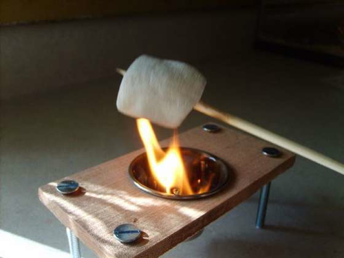 HOW TO – Make a Mini S'mores Grill