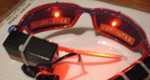 Brain machine shades