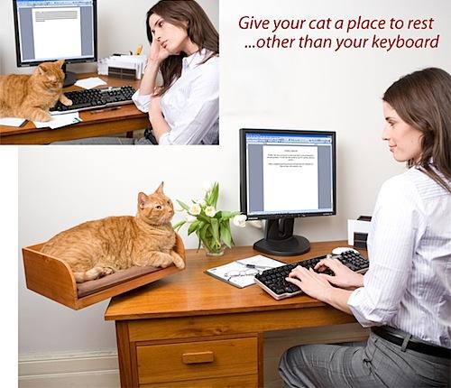 Remake: desktop cat bed