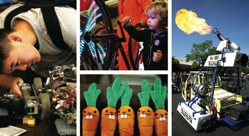 Volunteer @ Maker Faire Bay Area 2008