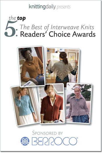 Interweave's Top 5 Readers' Choice Patterns Available in Free PDF
