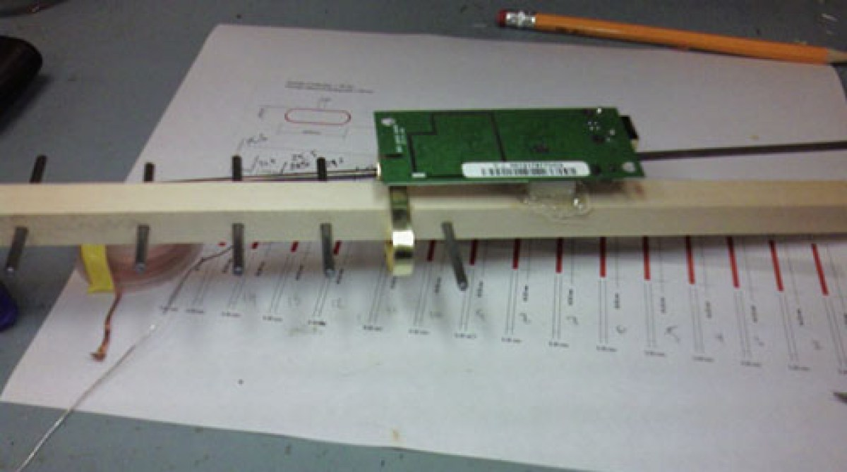 How To Make A Simple Wifi Yagi Antenna Homemade Wiring Diagram Article Featured Image