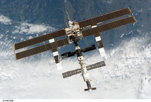 See the Space station!