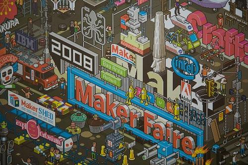 Maker Faire Bay Area 2008 (Maker day photos)