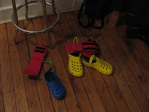ITP show: Steppers – musical shoes