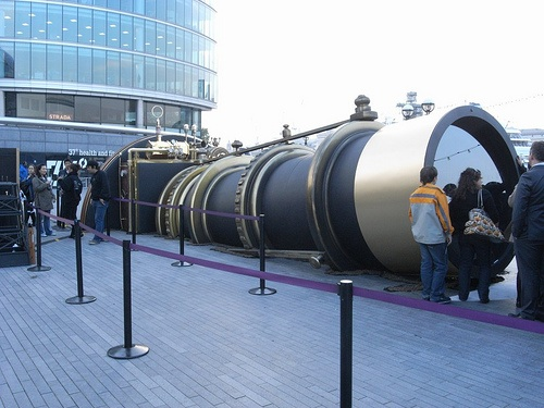 Giant 'telescope' links London and New York