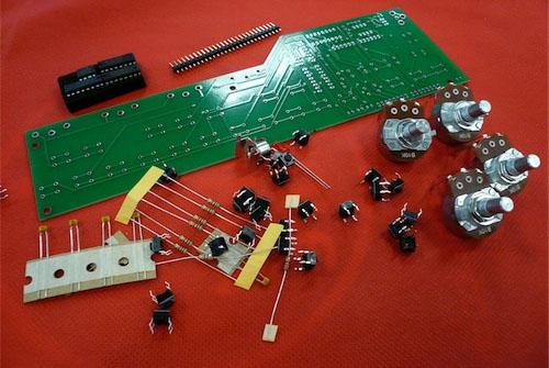 Arduino pocket piano in action