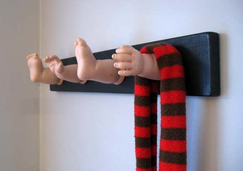 Natasha's Babydoll Coat Rack
