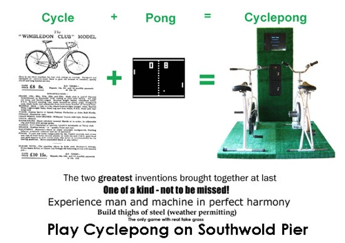 Cyclepong 2.0 – Play pong with bicycles