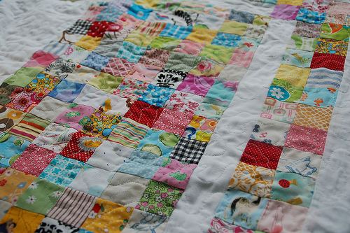 La Belle's First Machine Quilting Project