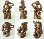 Crabfu statue
