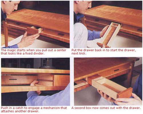 Secret drawers