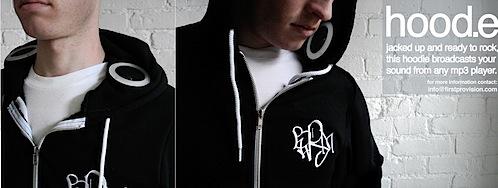 In-hoodie speakers