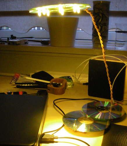 USB LED CD