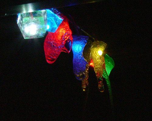 LED stalactites?