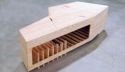 Coffin coffee table welcomes you into the afterlife cocktail party