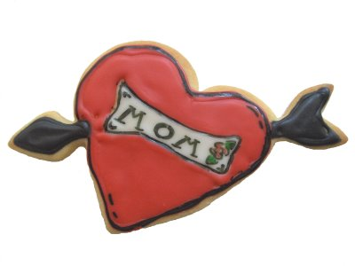 Mother's Day Tattoo Cookies