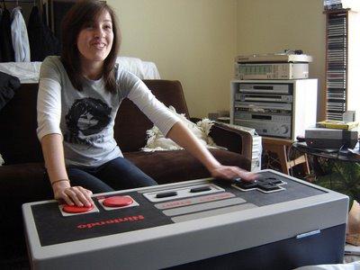 NES coffee table