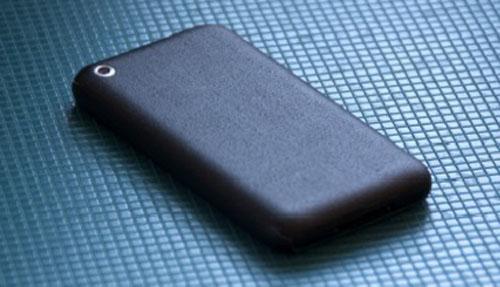 DiY: iPhone black grip skin