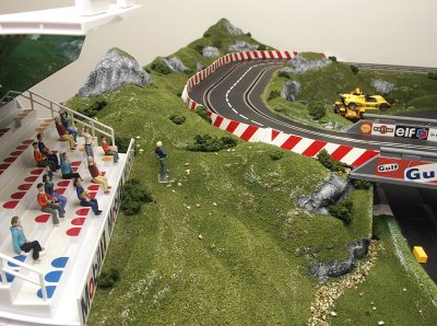 Creating scenery for slot car track is it easy to win money online poker