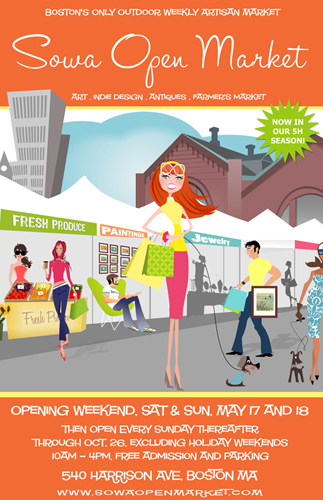 South End Open Market, May 17 & 18