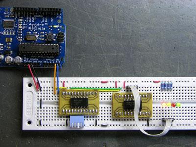 Hook up an Arduino to I2C