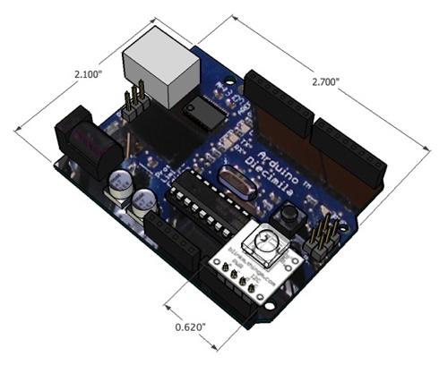 BlinkM & Arduino 3D models