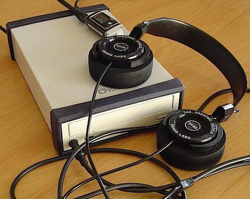 External CD-ROM headphone amp