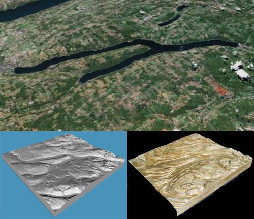 CNC terrain models